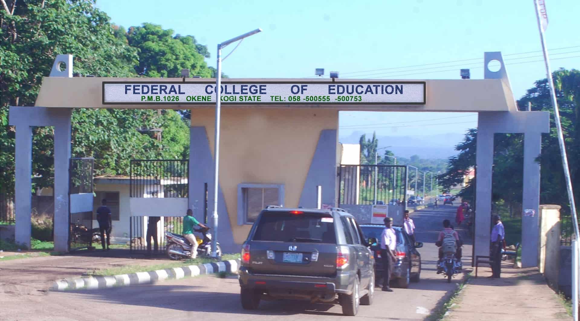 FCE Okene Main gate