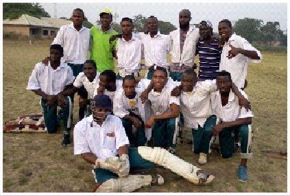 Cricket Team at NICEGA, 2019