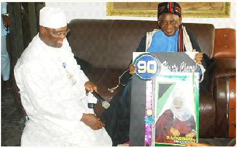 Provost Felicitates At 90 With Ohinoyi Of Ebiraland